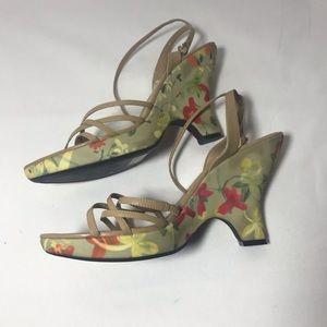 Nine West Floral Heels